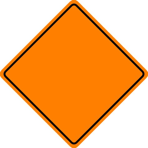 free printable road construction signs blank construction sign clipart clipart panda free