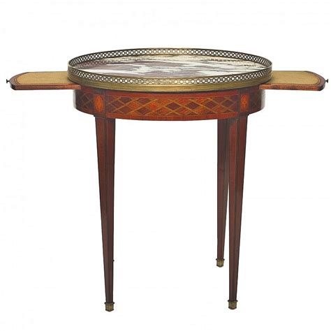 Time Table Proves Time Is Always In Style by The Bouillotte Table Defining