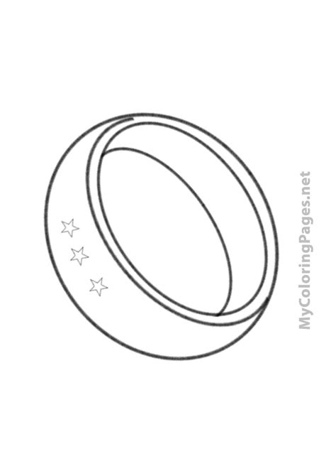 Rings Colouring Pages Ring Coloring Pages