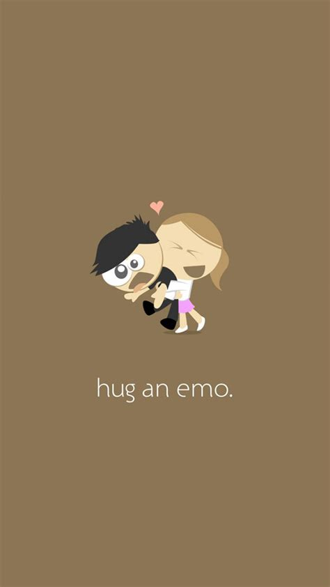 wallpapers for iphone emo hug an emo iphone 6 plus wallpaper 1080x1920