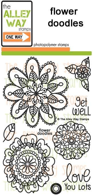 doodle alley flowers stencil heidi swapp