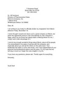 Exle Letter Of Resignation Professional by Resignation Letter Formal Professional Resignation Letter