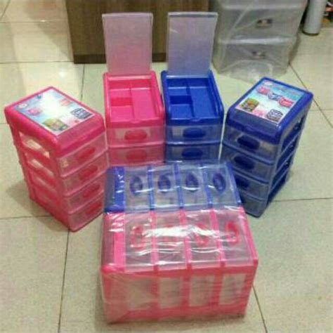 Laci Plastik laci susun 5 4 1 kecil shinpo laci mini mini