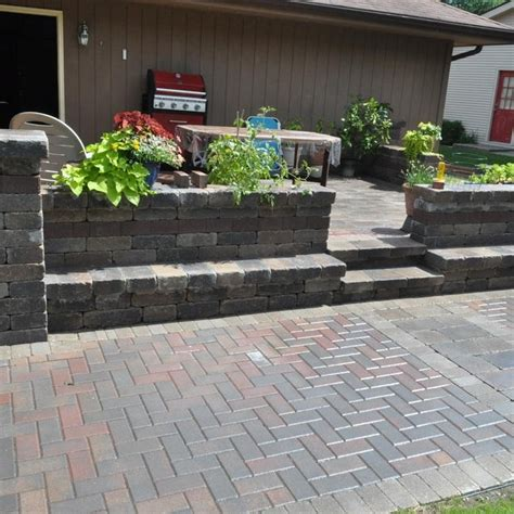 average cost to install paver patio images about desain