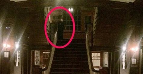 Haunted L by Stanley Hotel Guest May Captured Photo Of Ghost