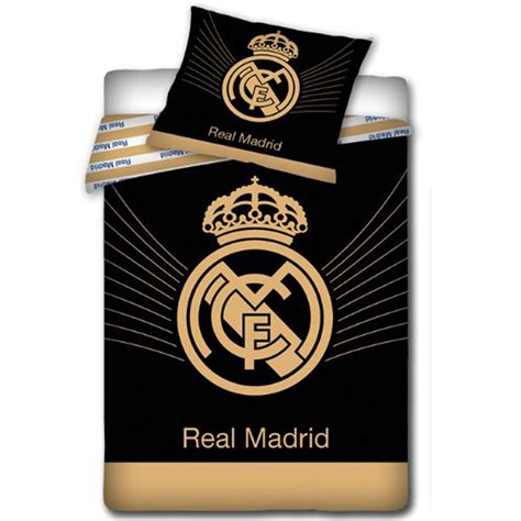 Real Madrid Bed Set Official Real Madrid Single Duvet Covers Football Bedding New Free P P Ebay