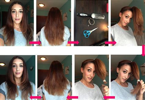 how to cut your hair towards your face 5 easy ways to layer cut your own hair at home