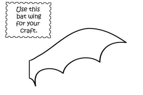 best photos of bat wings template printable bat wing