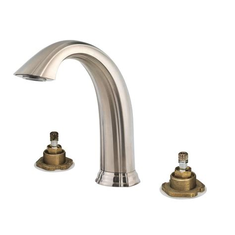 pfister bathtub faucets pfister santiago 2 handle high arc deck mount roman tub
