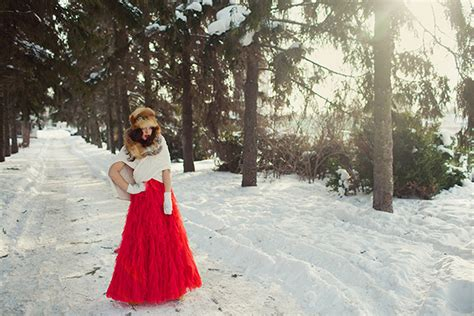 Backyard Farm Russian Winter Wedding Inspiration Glamour Amp Grace