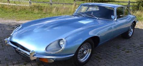 wedding car jaguar e type iconic jaguar e type coup 233 in blue available for wedding
