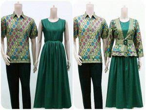 desain baju batik ala jepang model baju couple terbaru yang cocok untuk kondangan