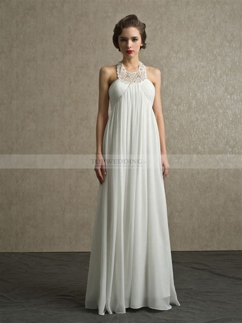 Hochzeit Brautkleid by Yazenia Dentelle Licou Empire Robe De Mari 233 E En