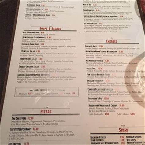 101 Kitchen Menu by William B S Reviews Greenville Yelp