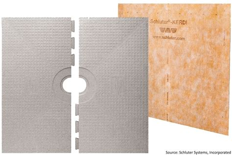 32x60 Shower Pan by Schluter Kerdi Shower System 32x60 Center Drain Pan Only