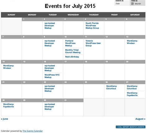 make an event calendar free 8 best event calendar plugins for website