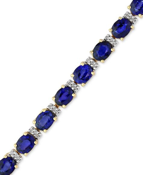 Blue Sapphire 12 3 Ct effy collection velvet bleu by effy manufactured diffused