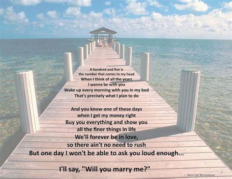 jason derulo marry me lyrics jason derulo quot marry me quot