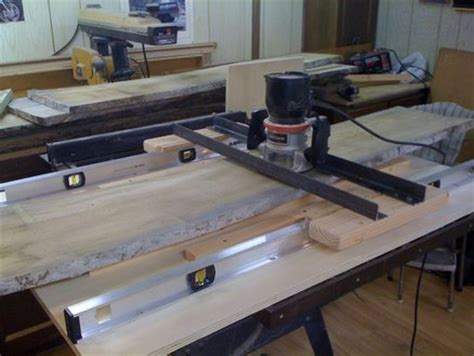 shop made router planer sled by bues0022 @ lumberjocks
