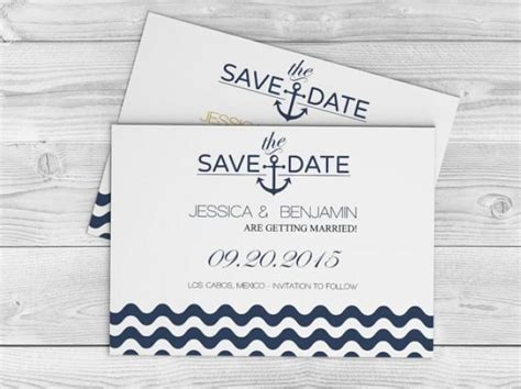 Diy Save The Date Cards Templates