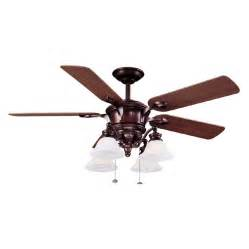 Harbor 52 Inch Ceiling Fan Shop Harbor 52 Quot Bellhaven Bronze Ceiling Fan At Lowes