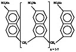 micron ladari acclimated biomass that degrades sulfonated naphthalene