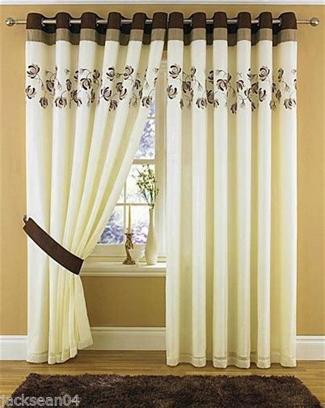 cream and chocolate curtains pinterest the world s catalog of ideas