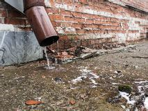 water drain pipe stock image. image of outlet, stream