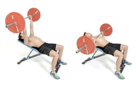 Incline Bench Press by How To Do The Incline Barbell Bench Press S Health