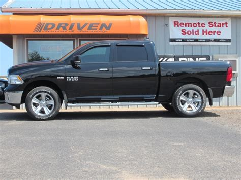 Dodge Ram Gets Leveling Kit, Window Tint, and HIDs