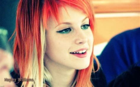 is hailey williams hair naturally red hayley williams red hair color by andaluana whi