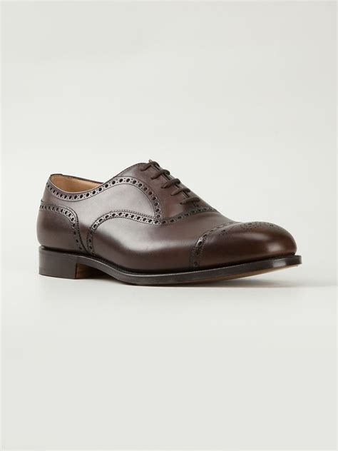 church s diplomat shoes in brown for lyst
