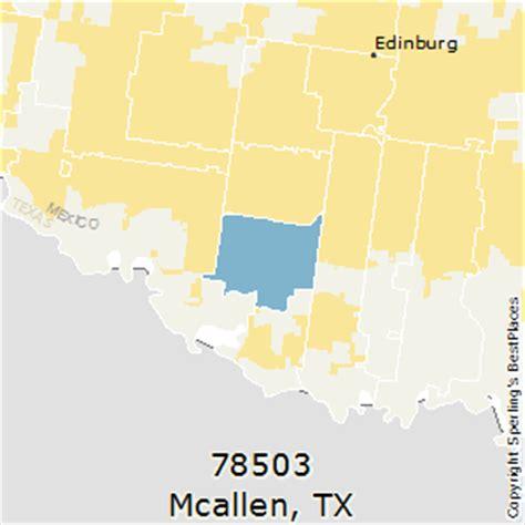 mcallen texas zip code map best places to live in mcallen zip 78503 texas