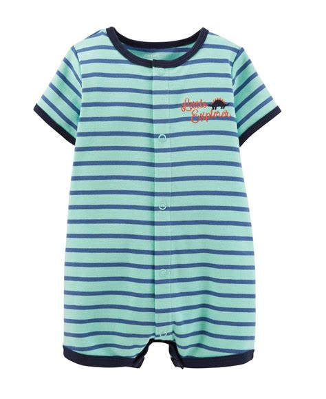 what are baby rompers carter s baby boys 1 appliqu 233 snap up romper