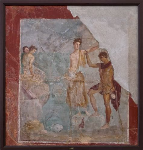 perseus house naples national archaeological museum perseus freeing andromeda from the house of