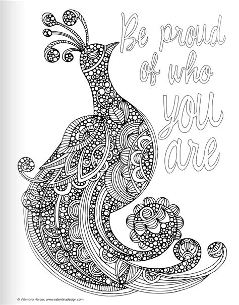 Free Inspirational Words Coloring Pages Inspirational Coloring Pages For Adults