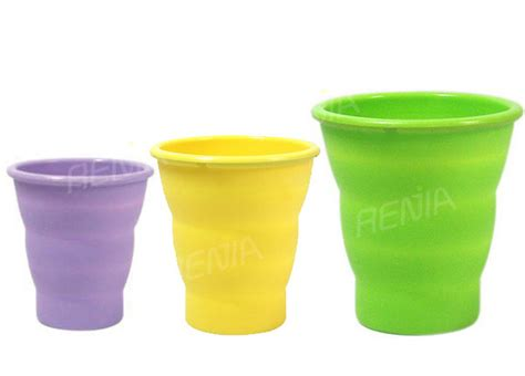 Silicone Foldable Cup Mould renjia silicone rubber folding cup silicone rubber