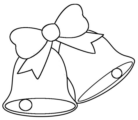 free printable coloring pages of christmas bells christmas bells pictures cliparts co