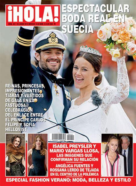 imagenes revista hola en 161 hola m 233 xico la espectacular boda real en suecia