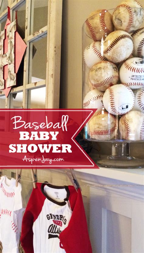 Baseball Baby Shower Ideas by Baseball Themed Baby Shower Aspen
