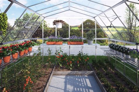 How To Build A Backyard Greenhouse Americana Hobby Greenhouse Gothic Arch Greenhouses