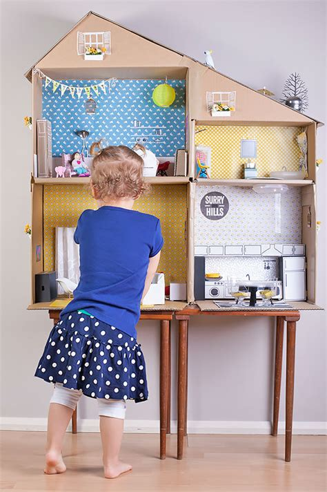 making a doll house 5 ways to make a dollhouse petit small