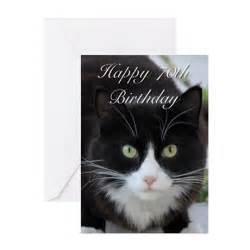 happy 70th birthday cat greeting cards by worldofkitties