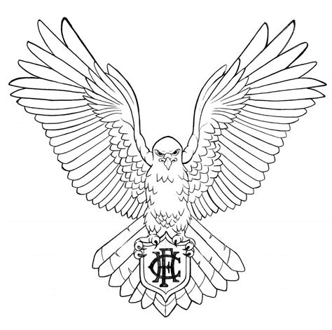 Black Hawk Outline 55 best hawk tattoos design and ideas