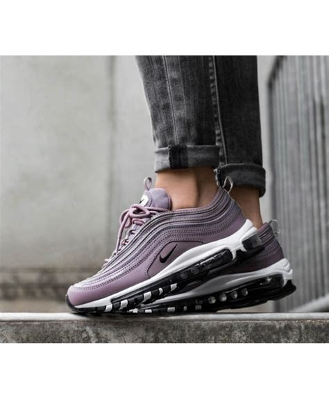 Chaussures 97 Femme by Chaussure Nike Air Max 97 Femme Violet Taupe Gris