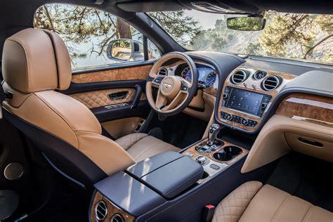 bentley coupe 2016 interior interior bentley bentayga worldwide 2016 pr