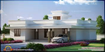 flat roof home designs contemporary flat roof single storied house model kerala