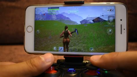 fortnite mobile app iosandroid controller buttons