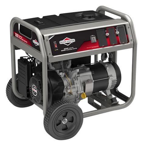 briggs stratton 5 000 watt gasoline powered portable