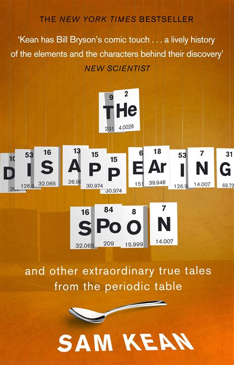 the periodic table penguin the disappearing spoon and other true tales from the periodic table by sam kean penguin